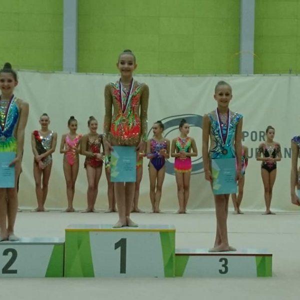Zmaga za Tašo Jagodič v kategoriji deklic A programa